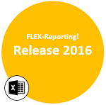 FLEX-Reporting! Release 2016 Excel Add-In