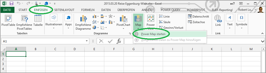 10 Power Map Start