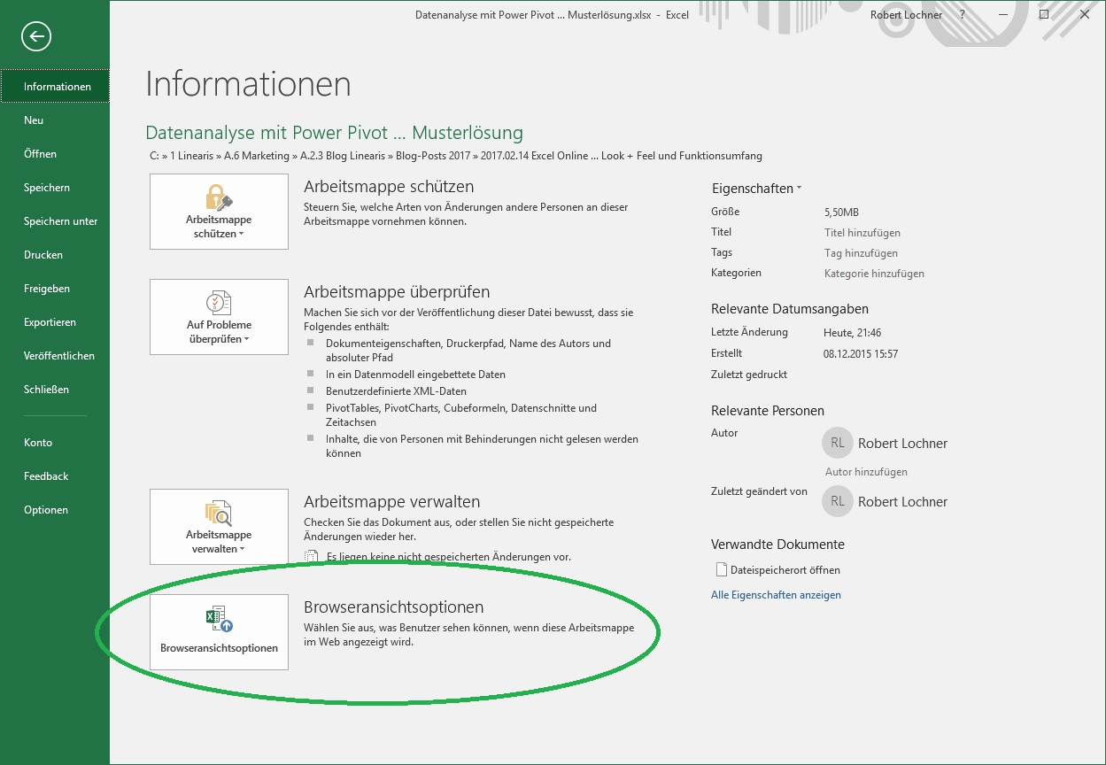 Excel Online: Einsatzgebiete, Look & Feel und aktueller ...
