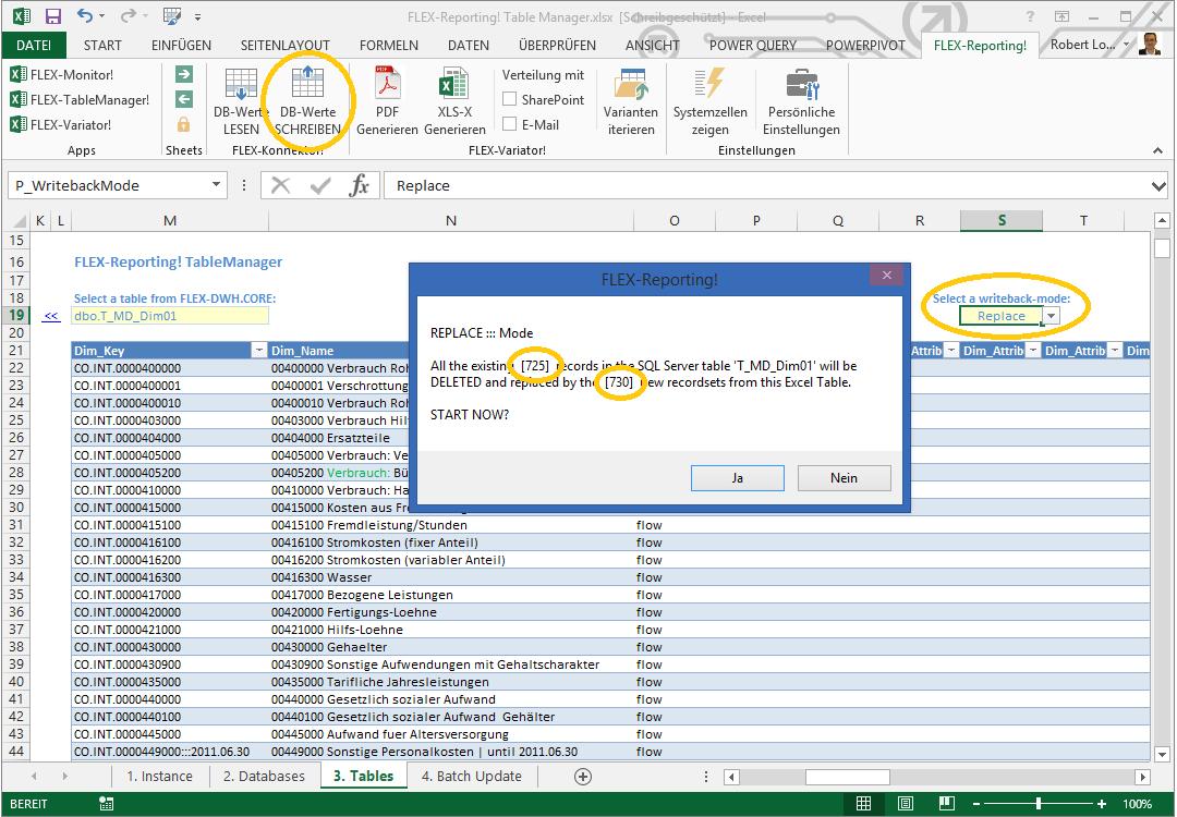 SQL Tabellen mit FLEX-TableManager! direkt in Excel bearbeiten ...