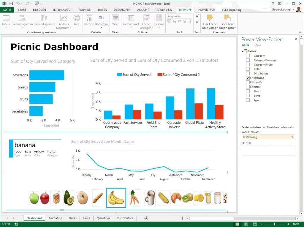 Das Neue Excel 2013 Teil 3 Power View Linearis Bi