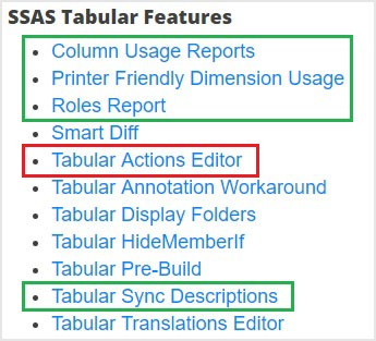 Neue Funktionen in SQL Server 2017 Tabular Model | Linearis :: BI