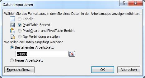 Das neue SQL 2012 Tabular Model   Teil 4 Verwendung mit Excel 2010 ...